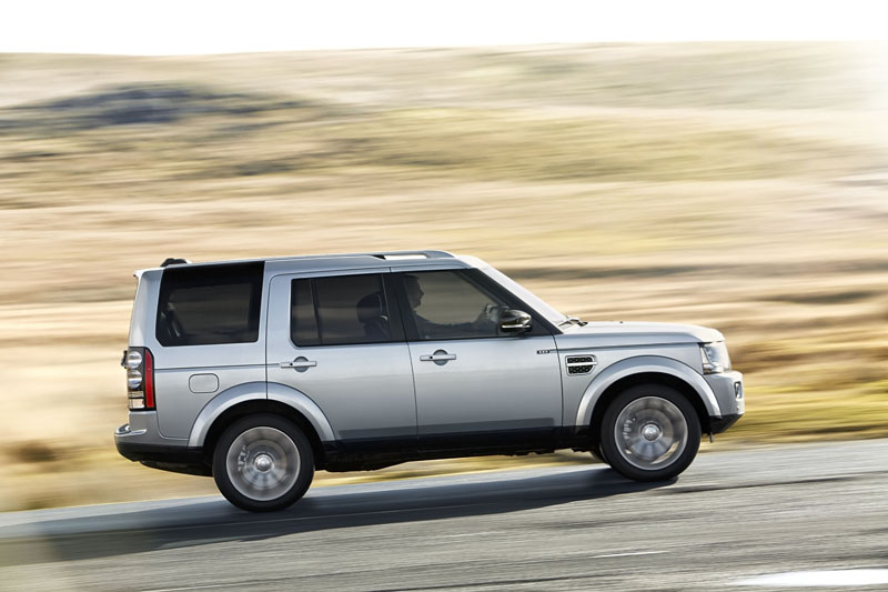 Foto Lateral Land Rover Discovery 25 Special Edition Suv Todocamino 2014