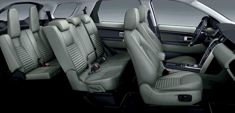 Foto Interior Land Rover Discovery Sport Suv Todocamino 2014