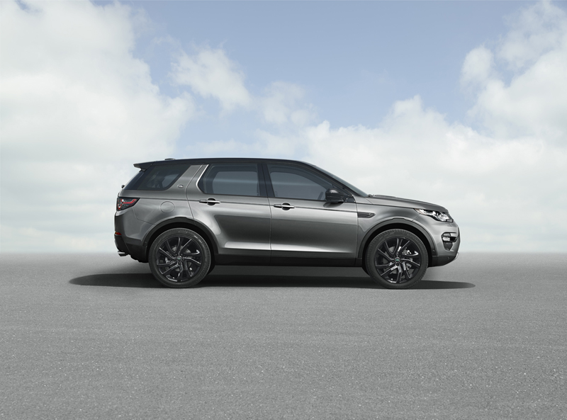 Foto Lateral Land Rover Discovery Sport Suv Todocamino 2014