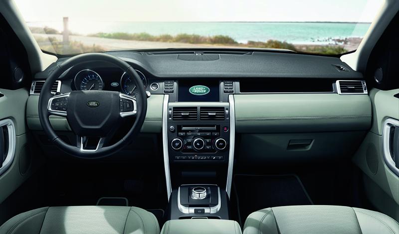 Foto Salpicadero Land Rover Discovery Sport Suv Todocamino 2014
