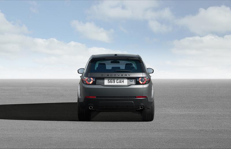 Foto Trasera Land Rover Discovery Sport Suv Todocamino 2014