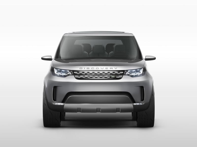 Foto Delantera Land Rover Discovery Vision Concept Prototipo 2014