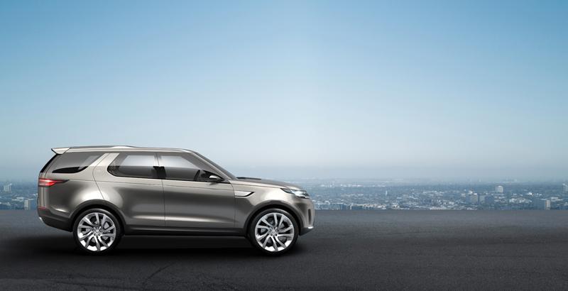 Foto Exteriores Land Rover Discovery Vision Concept Prototipo 2014