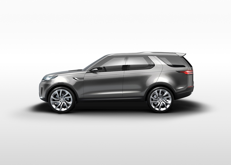Foto Lateral Land Rover Discovery Vision Concept Prototipo 2014