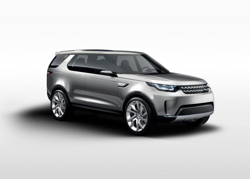 Foto Perfil Land Rover Discovery Vision Concept Prototipo 2014