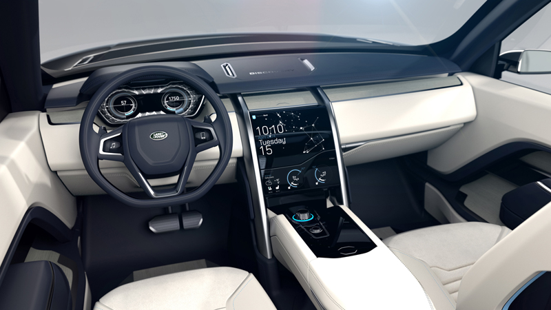 Foto Salpicadero Land Rover Discovery Vision Concept Prototipo 2014