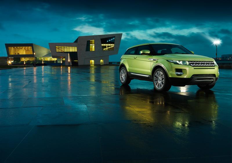 Range Rover Evoque de noche