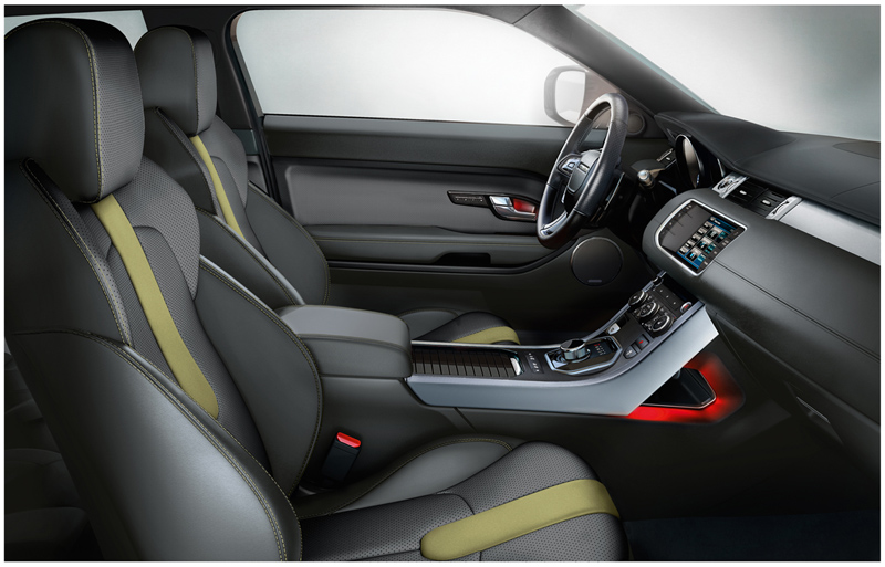 Foto Interiores Land Rover Evoque Suv Todocamino 2011