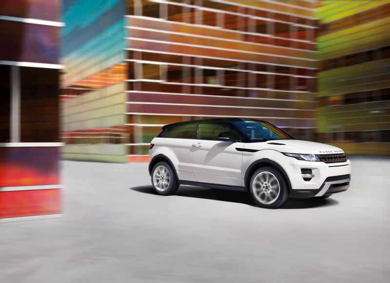 Foto Lateral Land Rover Evoque Suv Todocamino 2011