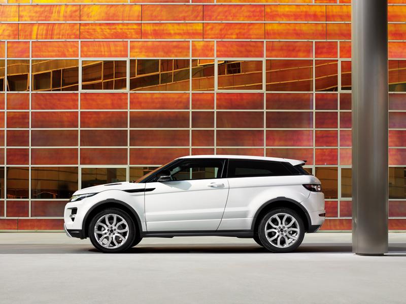 Foto Perfil Land Rover Evoque Suv Todocamino 2011