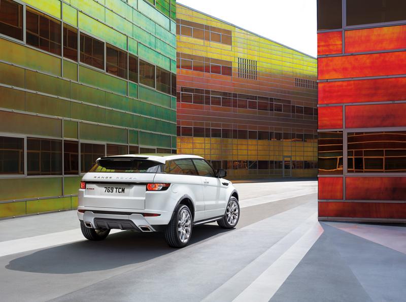 Foto Trasera Land Rover Evoque Suv Todocamino 2011