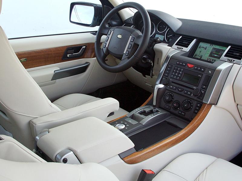 Foto Salpicadero Land Rover Range R Sport Suv Todocamino 2009