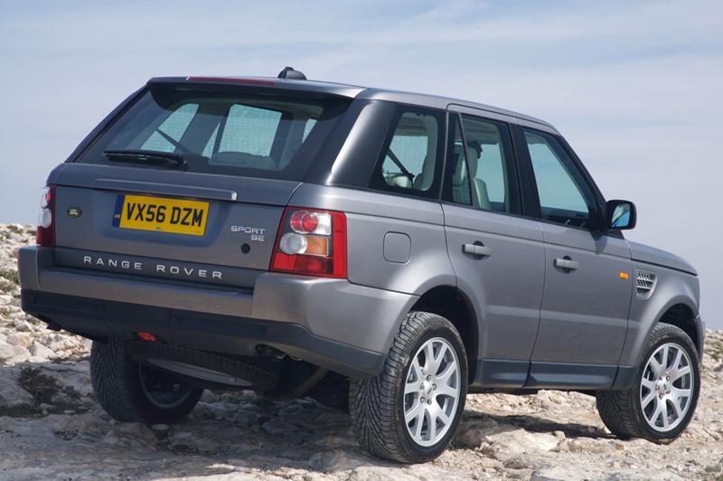 Foto Trasero Land Rover Range R Sport Suv Todocamino 2009