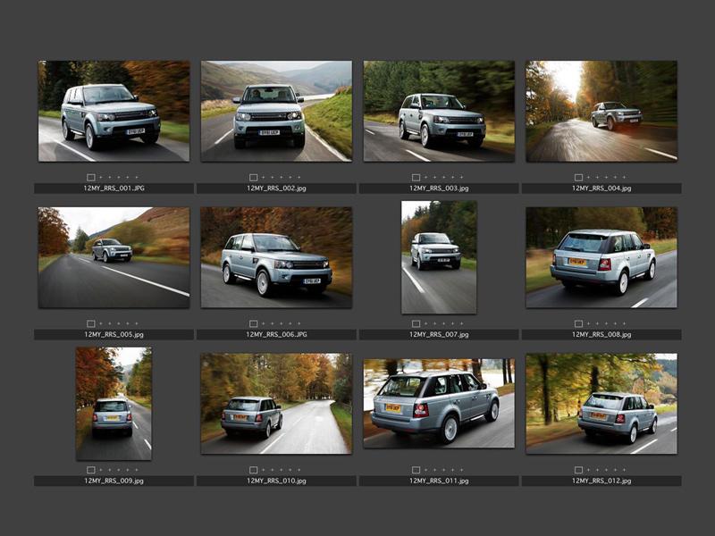 Foto Tecnicas (2) Land Rover Range-r-sport Suv Todocamino 2012