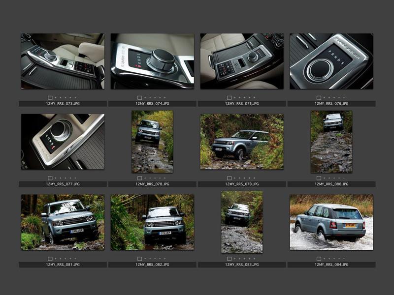 Foto Tecnicas (8) Land Rover Range-r-sport Suv Todocamino 2012
