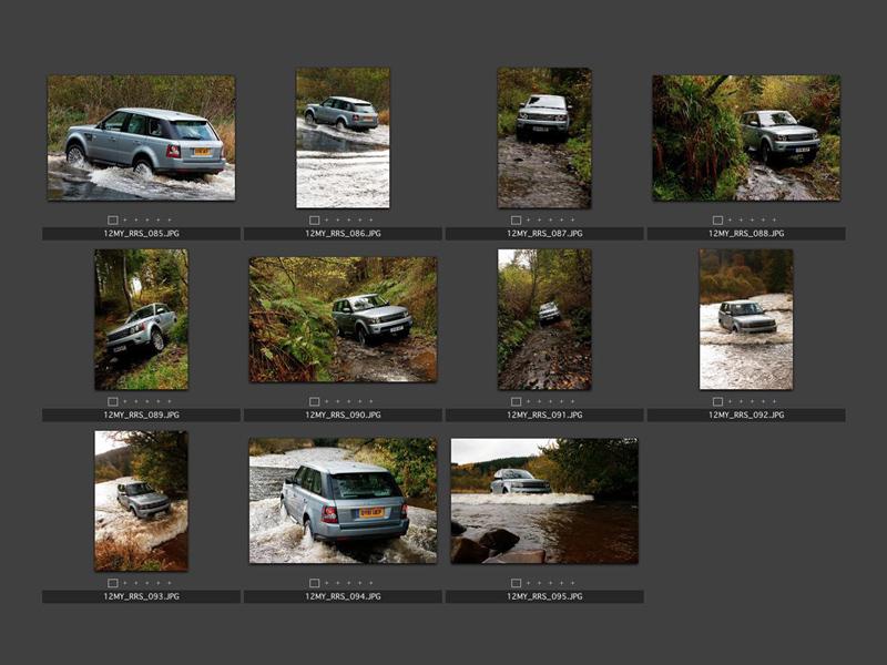 Foto Tecnicas (9) Land Rover Range-r-sport Suv Todocamino 2012