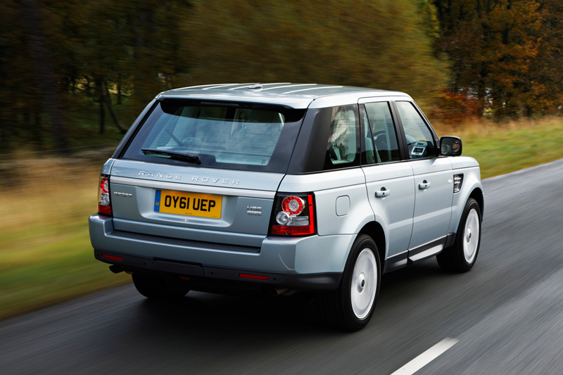 Foto Trasera Land Rover Range-r-sport Suv Todocamino 2012