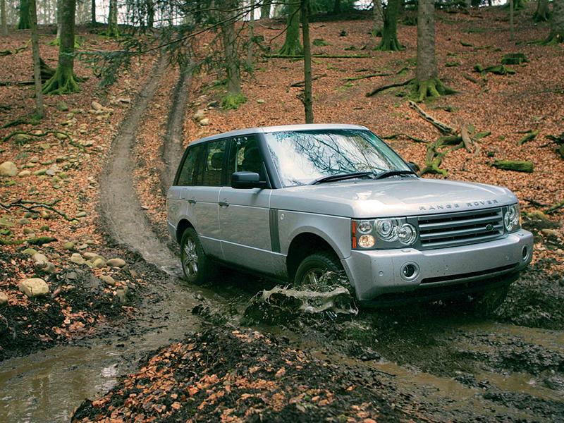 Foto Delantero Land rover Range rover Suv Todocamino 2008