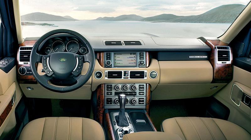 Foto Salpicadero Land Rover Range Rover Suv Todocamino 2008