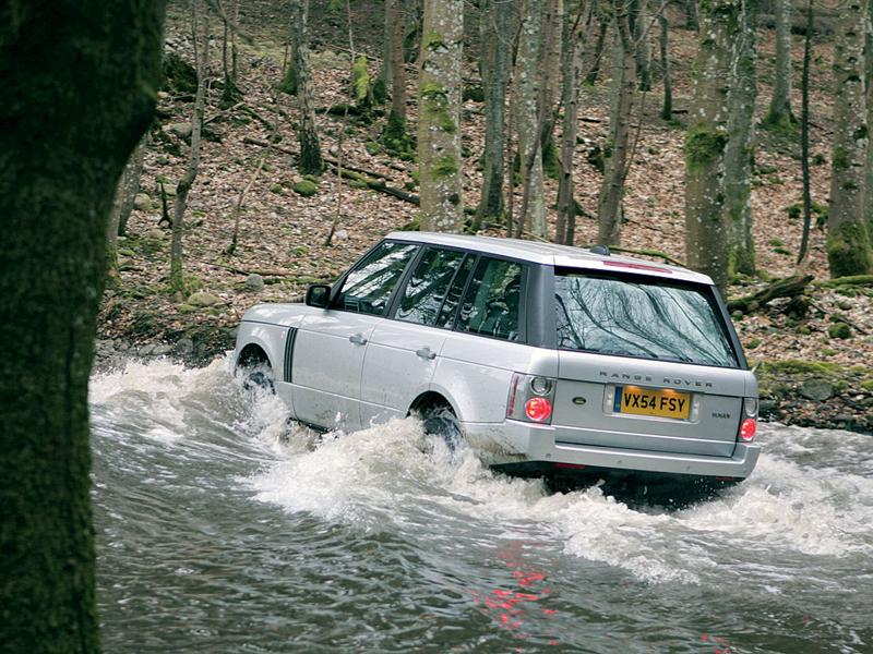 Foto Trasero Land Rover Range Rover Suv Todocamino 2008