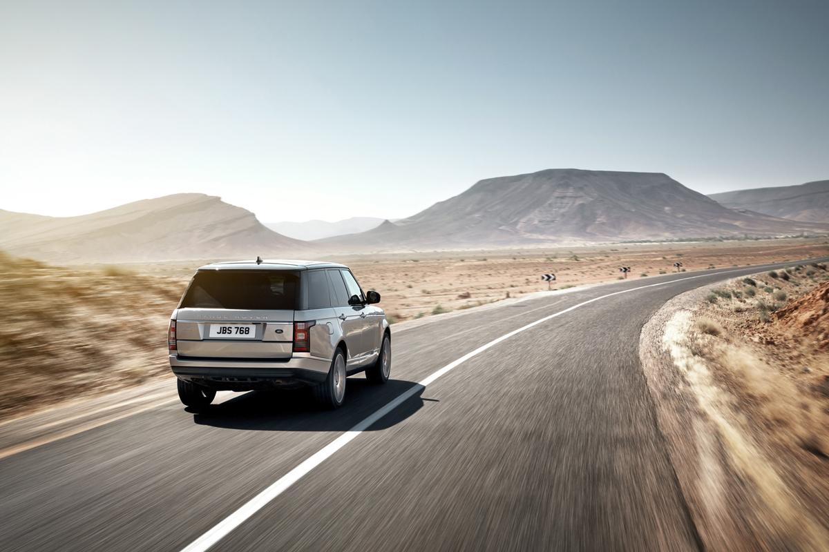 Fondo Pantalla Land Rover Range-rover Suv Todocamino 2013 Trasera