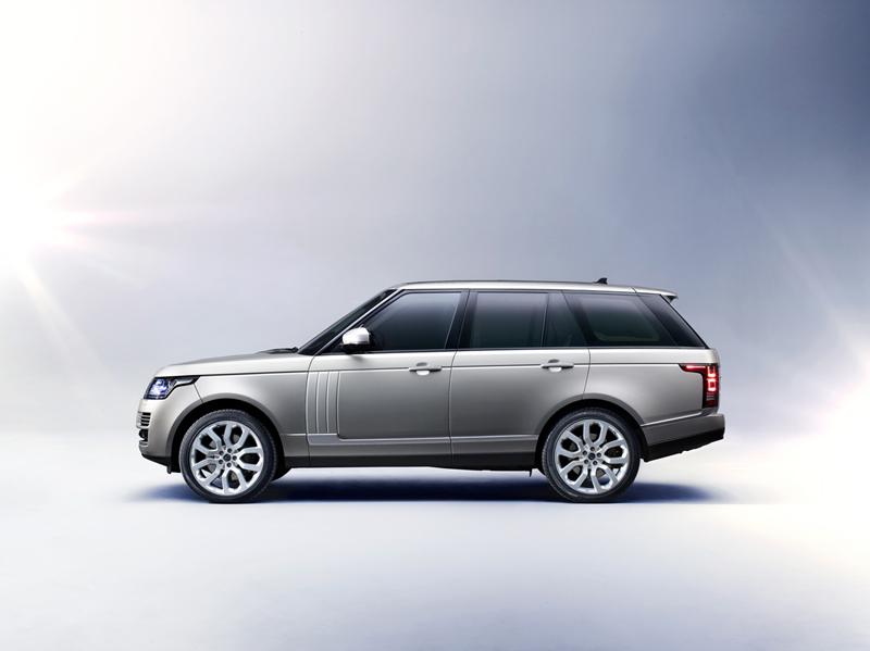 Foto Lateral Land Rover Range Rover Suv Todocamino 2013