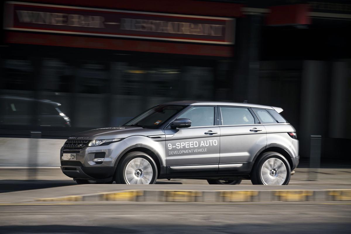 Fondo Pantalla Land Rover Range-rover-evoque Suv Todocamino 2013 Lateral