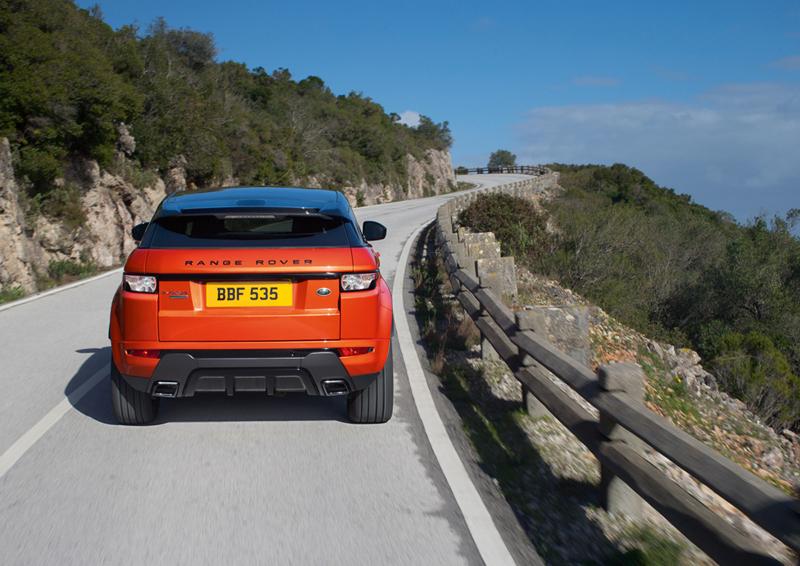 Foto Trasera Land Rover Range Rover Evoque Autobiography Suv Todocamino 2014