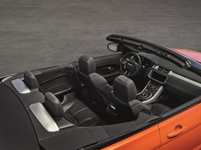 Foto Interiores Land Rover Range Rover Evoque Cabrio Suv Todocamino 2016