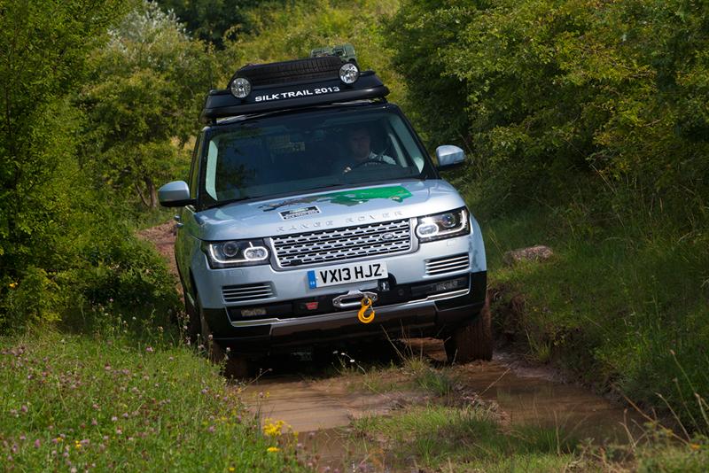 Foto Delantera Land Rover Range Rover Hibridos Suv Todocamino 2013