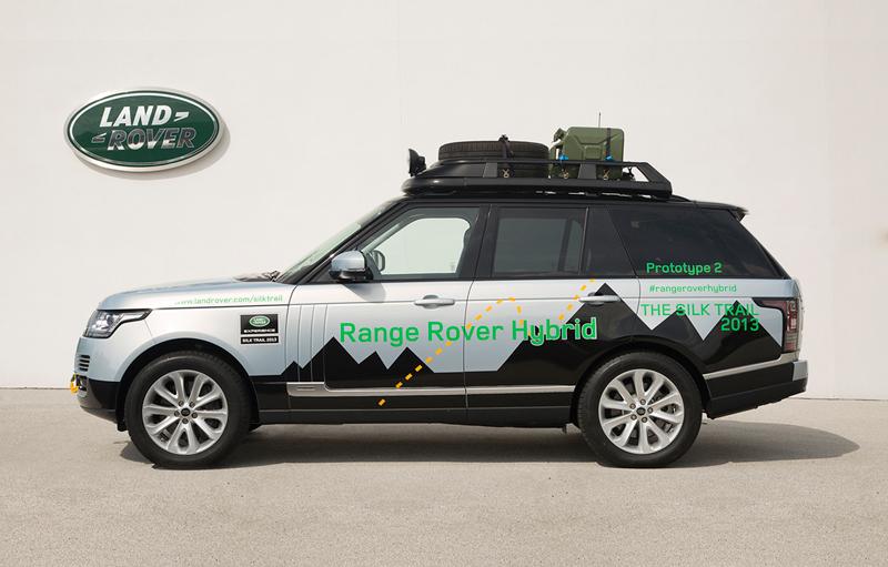 Foto Lateral Land Rover Range Rover Hibridos Suv Todocamino 2013