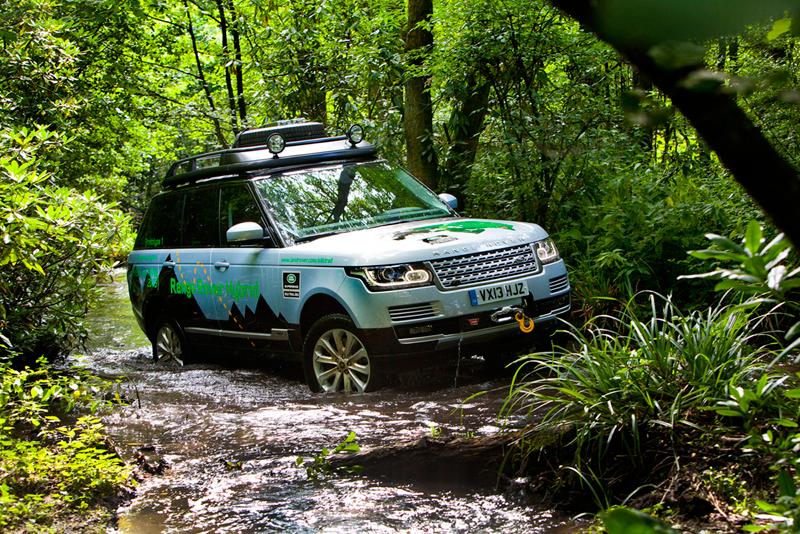 Foto Perfil Land Rover Range Rover Hibridos Suv Todocamino 2013