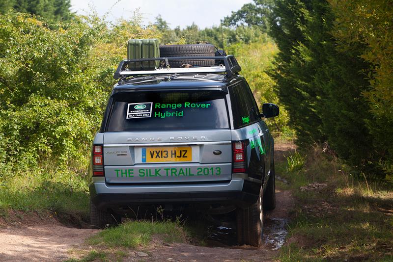 Foto Trasera Land Rover Range Rover Hibridos Suv Todocamino 2013