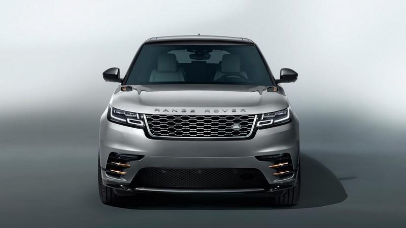 Foto Delantera Land Rover Range Rover Velar Suv Todocamino 2017