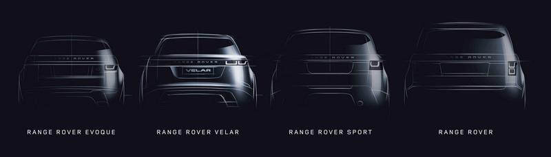 Range Rover Velar; posicionamiento en gama
