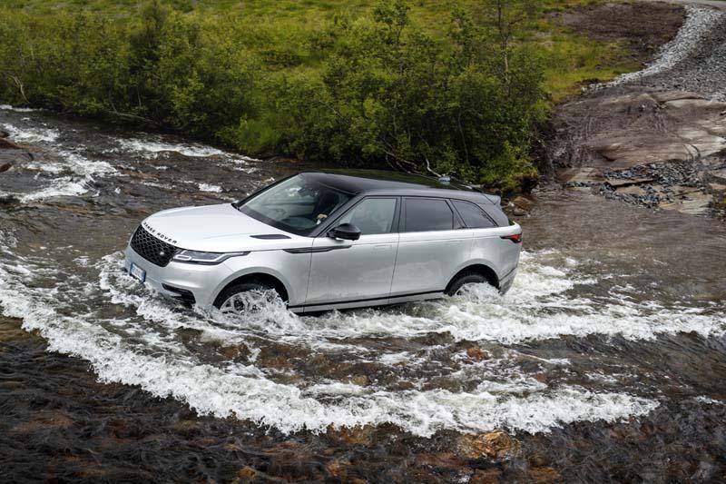 Range Rover Velar, foto off road