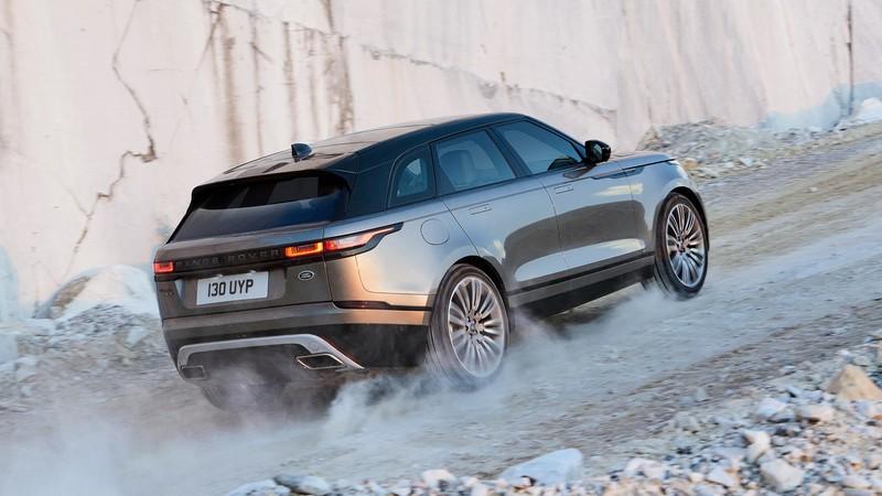Range Rover Velar trasera