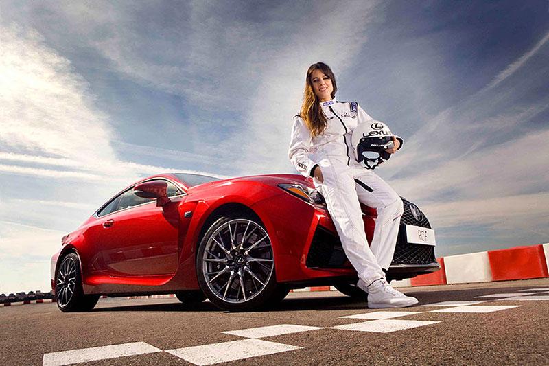 Foto Adriana_ugarte_lexus_racing_01 Lexus Adriana-ugarte-lexus-rc-f