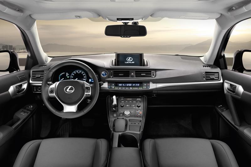 Lexus CT200h, análisis del sistema infotainment