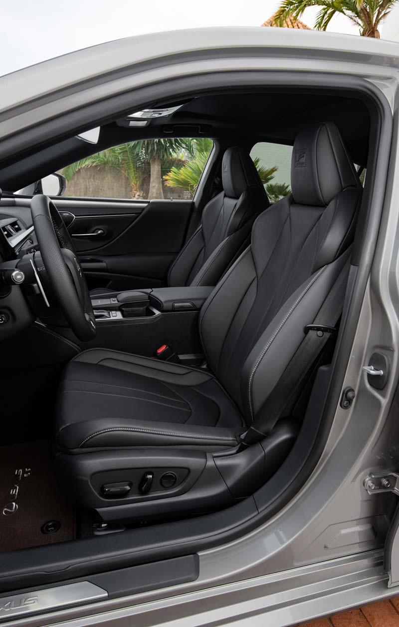 Foto Interiores Lexus Es Sedan 2019