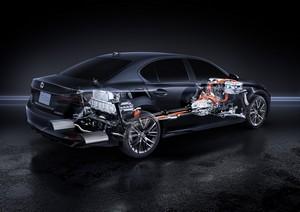 Foto Tecnicas 1 Lexus Gs-300h Sedan 2016