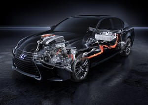 Foto Tecnicas Lexus Gs-300h Sedan 2016
