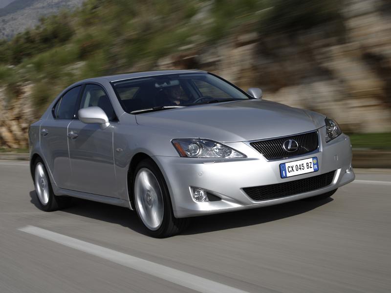 Foto Delantero Lexus Is Sedan 2007