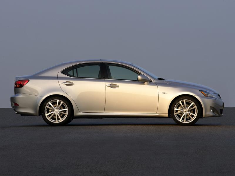 Foto Perfil Lexus Is Sedan 2007