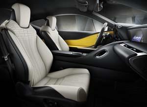 Foto Interiores (2) Lexus Lc-500h Cupe 2018