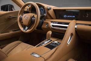 Foto Interiores (3) Lexus Lc-500h Cupe 2018