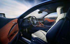 Foto Interiores (4) Lexus Lc-500h Cupe 2018