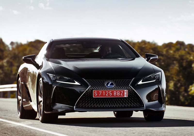 Lexus LC500h, prueba a fondo