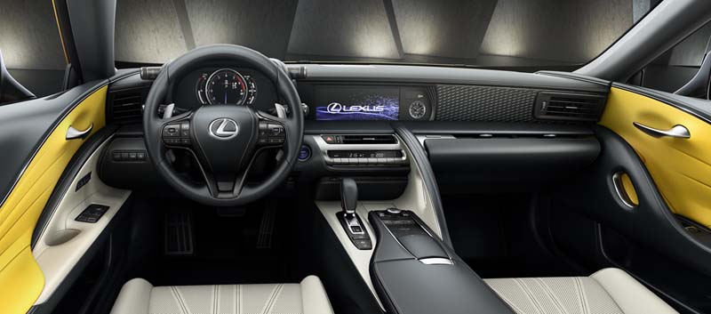 Foto Interiores Lexus Lc 500h Cupe 2018