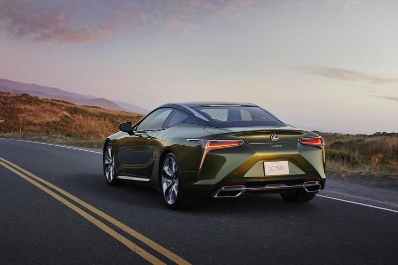 Foto Trasera Lexus Lc-edicion-limitada Cupe 2020